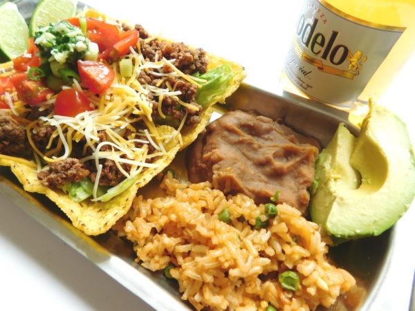 Chorizo & Beef Taco Salad | Bottom Left of the Mitten