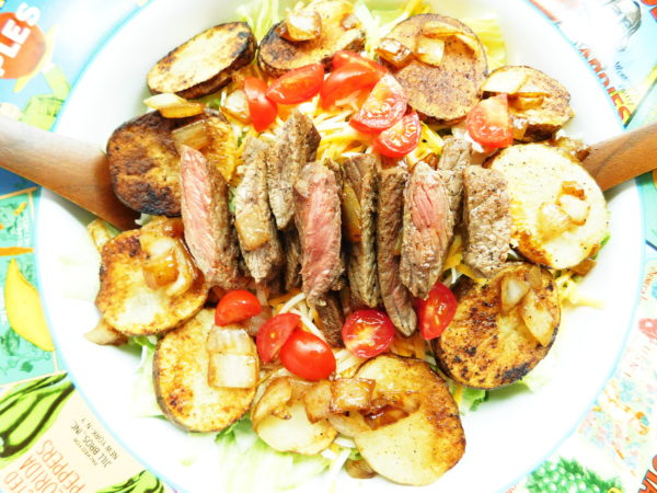 Cajun Steak & Potato Salad | Bottom Left of the Mitten
