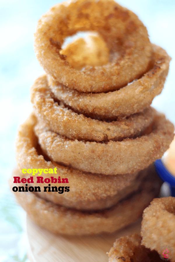 Copycat Red Robin Onion Rings