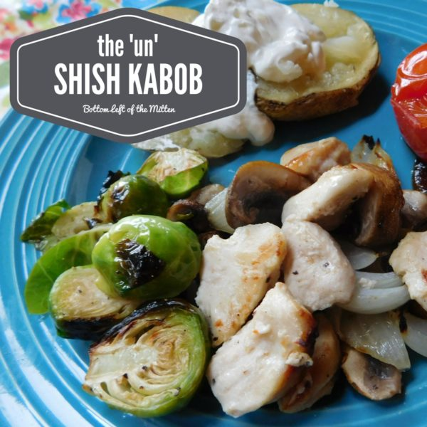The 'Un' Shish Kabob | Bottom Left of the Mitten
