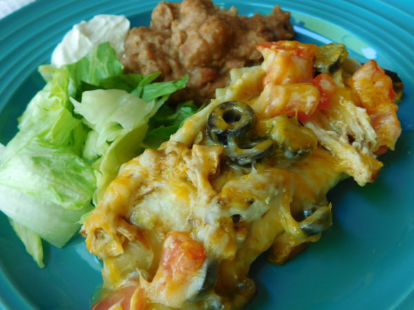 Blackened Chicken Green Chili Enchiladas. Blackened chicken takes these Green Chili Enchiladas to the next level.