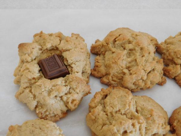 Peanut Butter Candy Bar Blossoms | Bottom Left of the Mitten