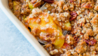 Peach Pecan Crisp from Sally's Baking Addiction