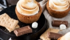 S'mores Cookie Cups from Liv For Cake.
