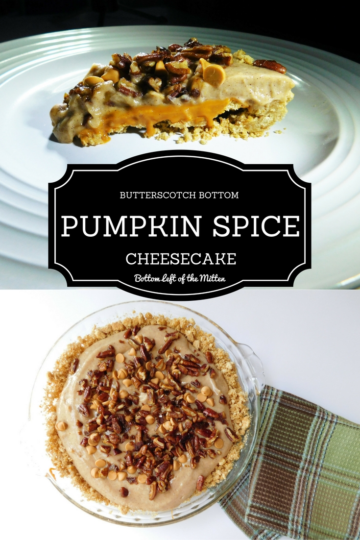 recipe butterscotch bottom pumpkin spice cheesecake a quick no bake ...