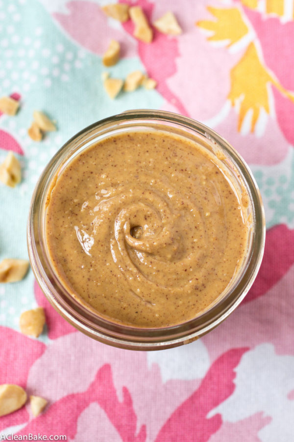 How To Make Peanut Butter from Let A Clean Bake