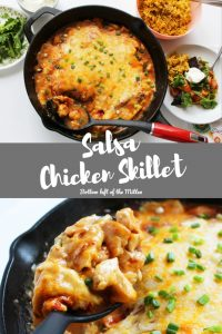 Salsa Chicken Skillet | Bottom Left of the Mitten
