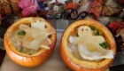Pumpkin Chicken Pot Pie for your Little Goblins from A Day in the Life on the Farm