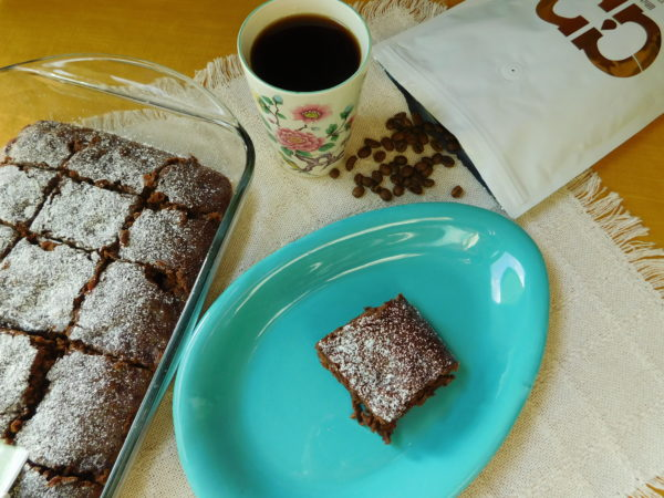 Chocolate Cherry Cafe Brownies | Bottom Left of the Mitten