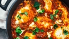 One-Pot Spicy Eggs and Potatoes from Pinch of Yum