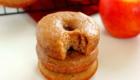 Cinnamon Vanilla Glazed Apple Cider Donuts from Pumpkin N' Spice