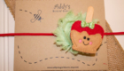 Candy Apple Feltie from Addy's Bugs N' Blooms