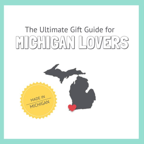 Michigan Lovers Gift Guide| Bottom Left of the Mitten