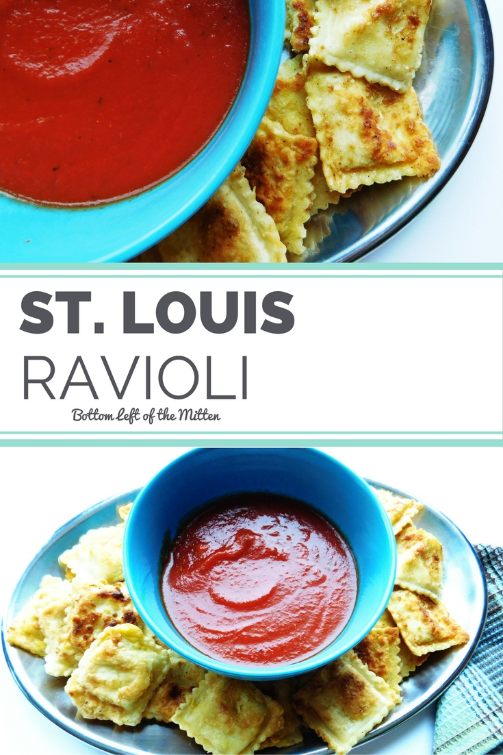 St. Louis Ravioli | Bottom Left of the Mitten #appetizer #ravioli #easyrecipe
