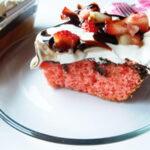 Neapolitan Poke Cake | Bottom Left of the Mitten
