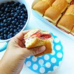 Cream Cheese Slider Sandwiches | Bottom Left of the Mitten