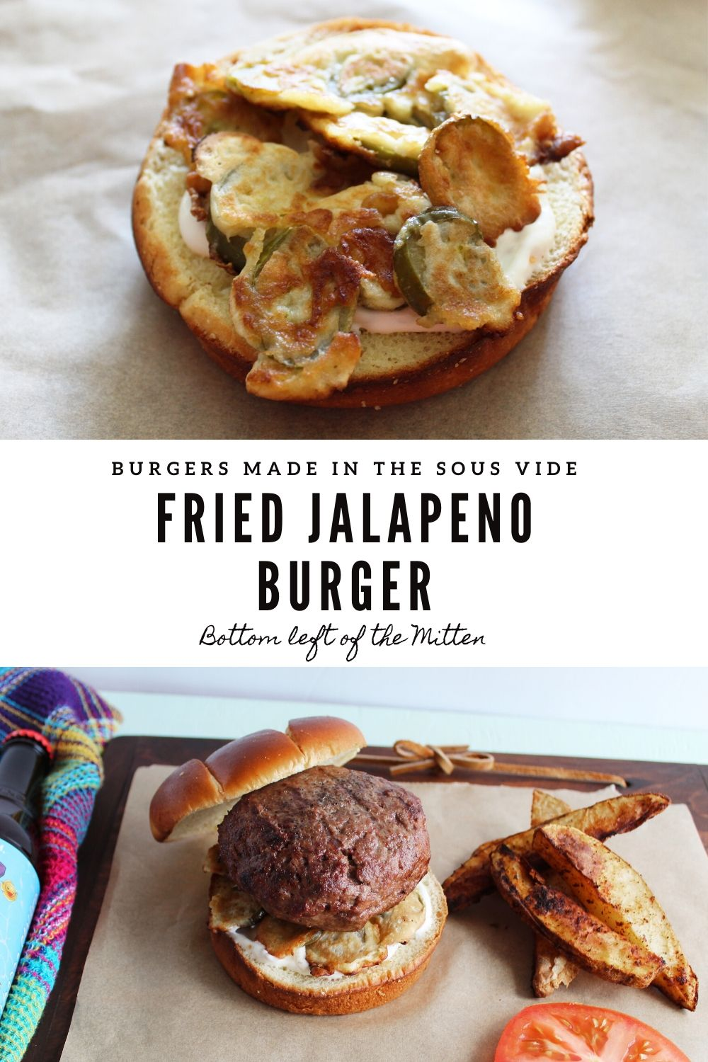 Fried Jalapeno Burger | Bottom Left of the Mitten #jalapeno #burgerrecipe #aioli