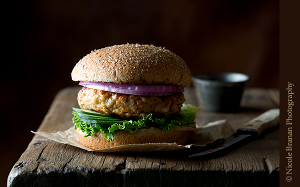 Raspberry Habanero Jam-Glazed Chicken Burger from The Spice Train | 'Celebrate with 8' Burgers That Aren't Beef | Bottom Left of the Mitten