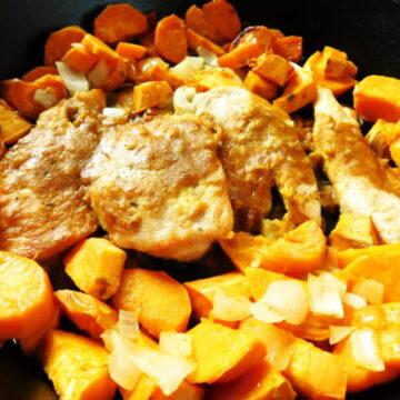 Skillet Sweet Dijon Chicken & Potatoes | Bottom Left of the Mitten