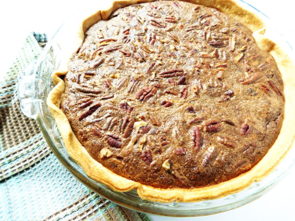 Chocolate Pecan Pie | Bottom Left of the Mitten