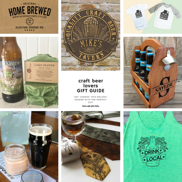 Craft Beer Lovers Gift Guide | Bottom Left of the Mitten