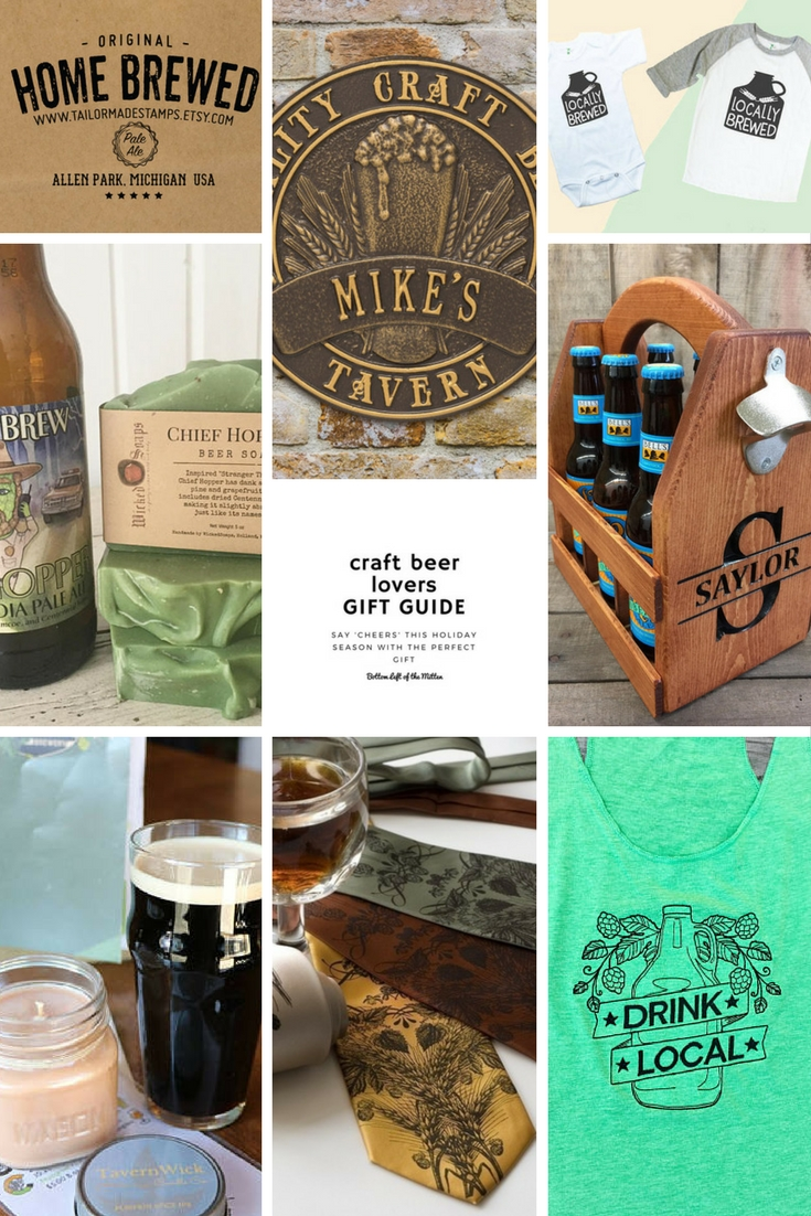 Craft Beer Lovers Gift Guide | Bottom Left of the Mitten #craftbeer #giftguide #holidaygiftguide #craftbeergifts