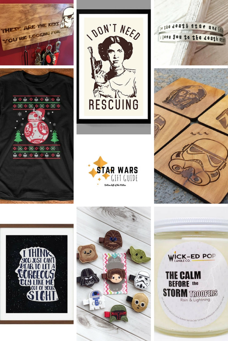 Star Wars Gift Guide | Bottom Left of the Mitten #starwars #giftguide #movie