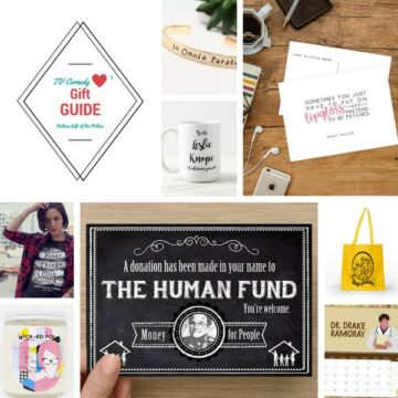 TV Comedy Lovers Gift Guide | Bottom Left of the Mitten