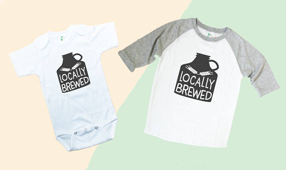 Locally Brewed from KayeDesign Studio | Craft Beer Lovers Gift Guide | Bottom Left of the Mitten