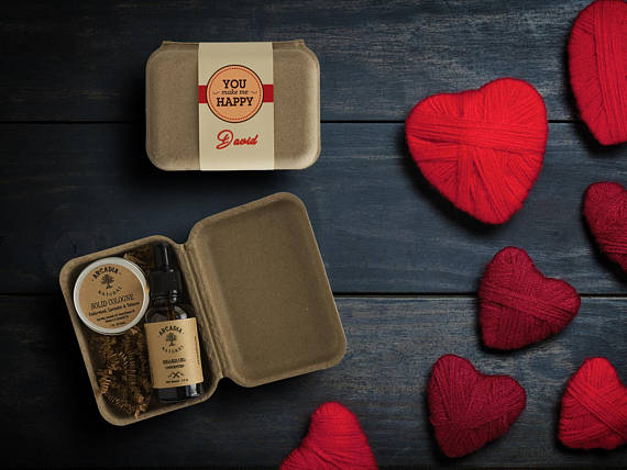 Solid Cologne & Bear Oil from ArcadiaNatural | Valentine's Day Gift Guide | Bottom Left of the Mitten