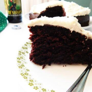 Irish Stout Cake | Bottom Left of the Mitten
