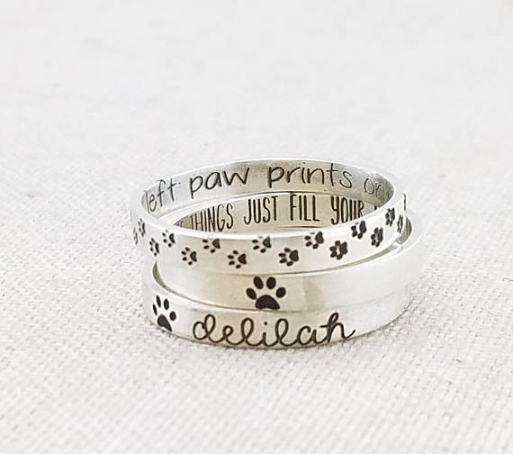 Personalized Pet Jewelry from Emily J Design | Celebrate with 8 for National Pet Day | Bottom Left of the Mitten