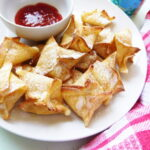 Baked Coconut Shrimp Wontons | Bottom Left of the Mitten