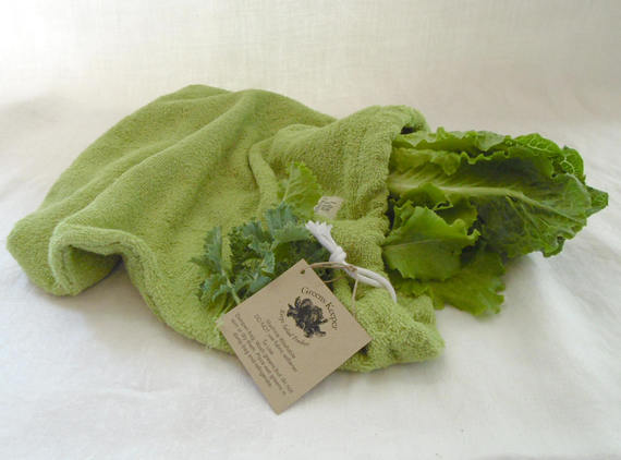 Greens (Lettuce) Keeper from LilacHillDesigns | Celebrate with 8 National Salad Month | Bottom Left of the Mitten