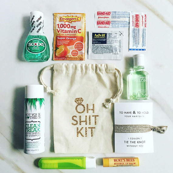 Hangover Bags from DanielleTaylorCo | 'Celebrate with 8' Bachelorette Party Fun | Bottom Left of the Mitten