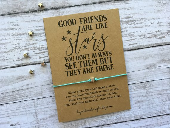 Good Friends are Like Stars Bracelet from LayeredandSimple | Celebrate with 8 for Friendship Day | Bottom Left of the Mitten