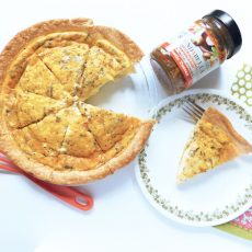 Tuscan Quiche | Bottom Left of the Mitten