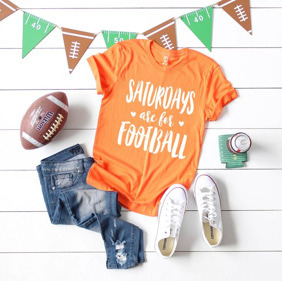 College Football Shirt from LiftHerUpCo | Celebrate with 8 for Game Day | Bottom Left of the Mitten