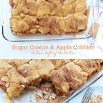 Sugar Cookie and Apple Cobbler
