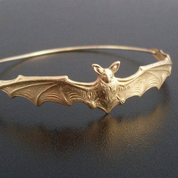 Bat Bracelet from FrostedWillow | Halloween 2018 | Bottom Left of the Mitten