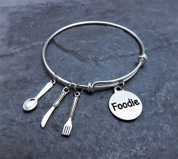 Foodie Charm Bracelet from Pammytail