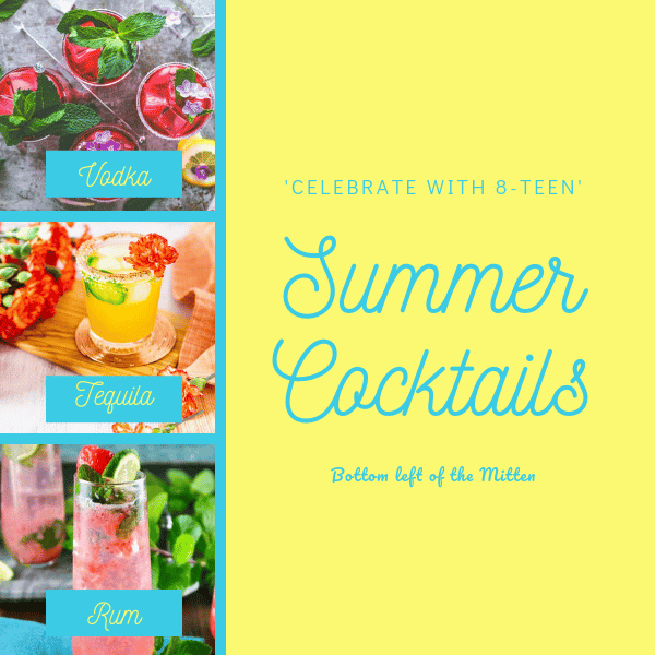 A round up of summer cocktails.