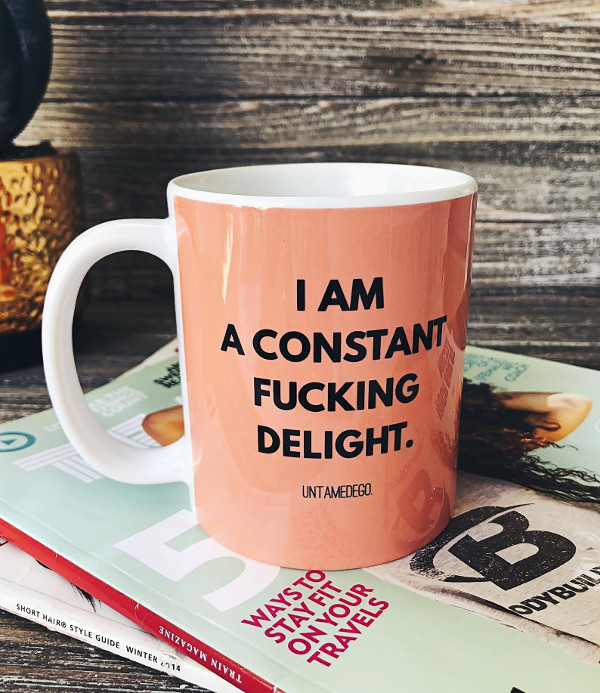I Am A Constant Fucking Delight Coffee Mug from untamedegoshop