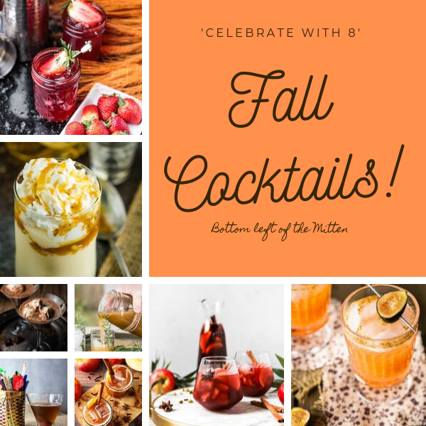 A roundup of 8 Fall Cocktails