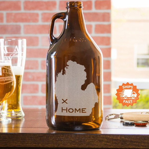Fill up a growler for National Beer Day with this Local Craft Beer Growler from EverythingEtchedAZ