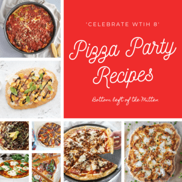 collagecollage of photos of pizza recipes