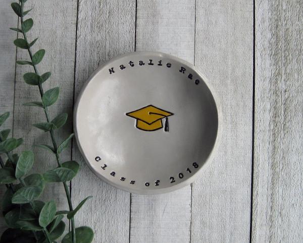 overhead shot of personalized gift bowl from elmstudiosonline
