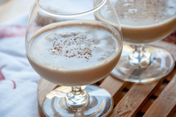 staged image of Apple Brandy Alexander