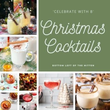 collagae image of 8 Christmas Cocktails