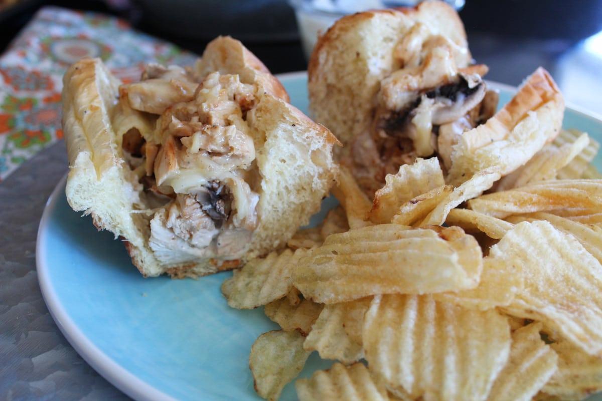 Chicken & Mushroom Subs | Bottom Left of the Mitten